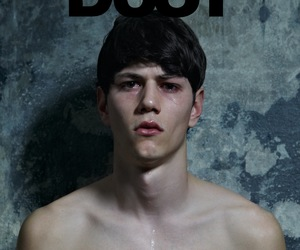 dust, editorial, and model image