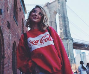 coca cola, new york, and zoella image