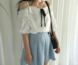outfit, korean, and clothes image