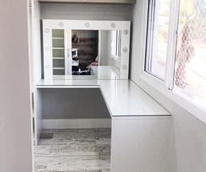 closet, espelho, and grey image