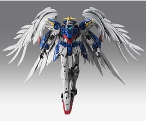action figure, gundam wing, and anime image