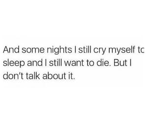cry, deep, and depression image