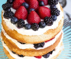 cake, food porn, and delicious image