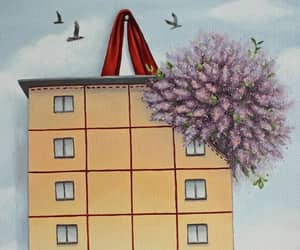 lilac, весна, and дом image