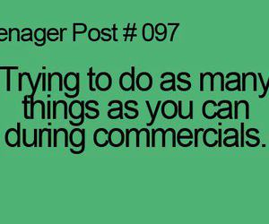 teenager post, commercials, and 097 image