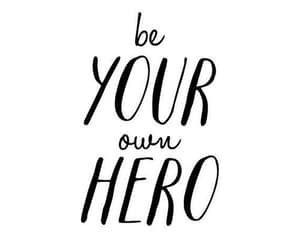hero, quotes, and love image