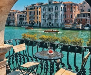 travel, venice, and place image