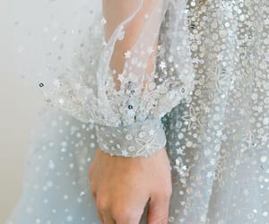 dress, glitter, and fashion image