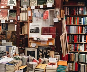 book, bookstore, and library image