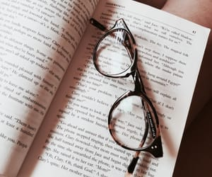 glasses, indie, and book image