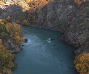 adventure, fall, and river image