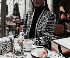 Balmain, fashion, and food image