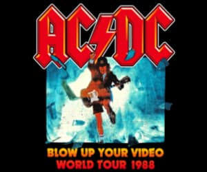 ACDC, american, and band image