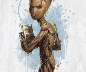 Marvel, Avengers, and groot image