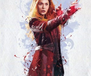 wanda, scarlet witch, and avengers infinity war image