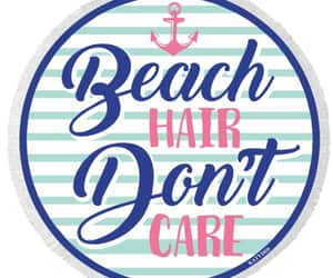 round beach towel image