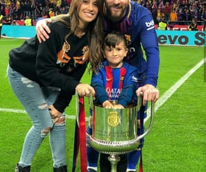 family, leo messi, and fcb image