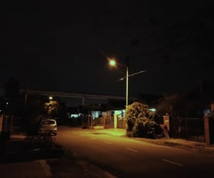aesthetic, sky, and street light image
