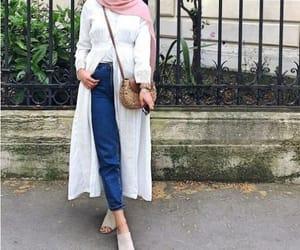 open dress hijab image