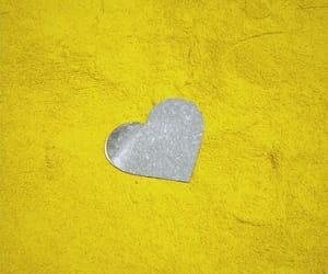 album, heart, and music image