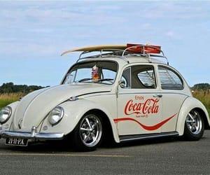 beetle, cocacola, and vw image