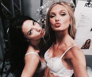 model, Adriana Lima, and romee strijd image
