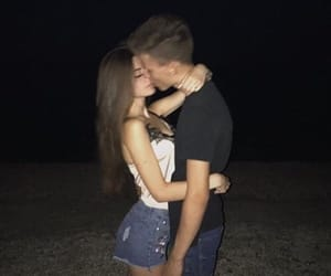 couple, kiss, and sweet image