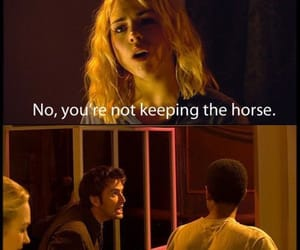 horse, mickey, and rose tyler image