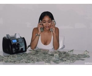 money, saweetie, and icy image