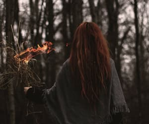 autumn, fire, and aesthetic image
