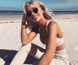 beach, clothes, and fashion image