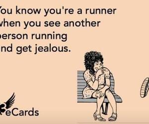 run, running, and jealous image
