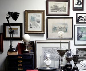 decorations, home decor, and picture frames image