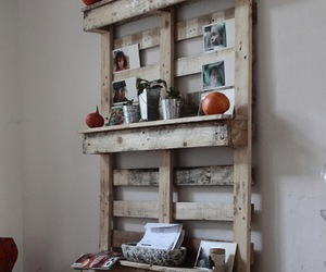 pallet shelves and pallet wall shelves image