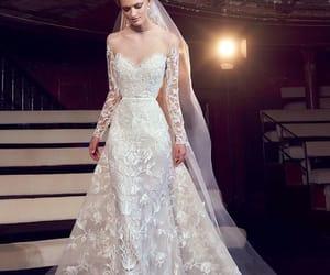 elie saab and wedding dress image