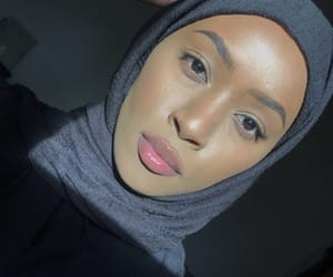 makeup, hijâbi, and natural image