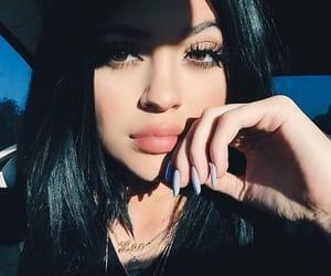 beautiful, black hair, and girl image