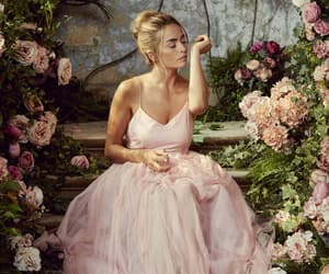 dress, flowers, and nature image