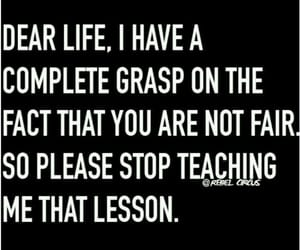 life, lesson, and funny image