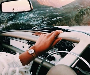 travel, car, and summer image