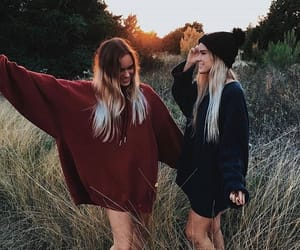 friends, friendship, and beauty image
