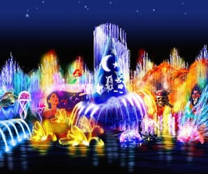 colorful, discover, and disney world image