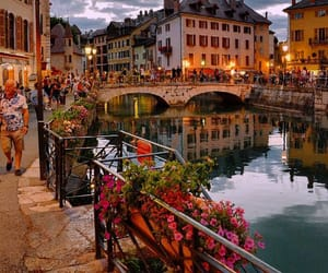 city, france, and annecy image