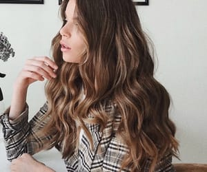 beautiful, blazer, and brown image