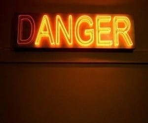 anger, danger, and neon image