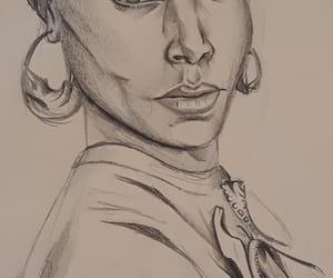 actress, art, and girl image