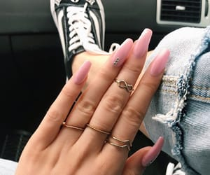 girl and nails goals image