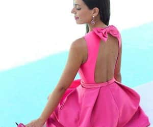 dress, heels, and sexy back image