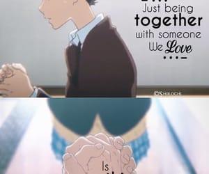 anime, sad, and koe no katachi image