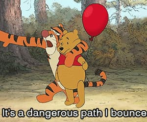 winnie the pooh, disney, and tiger image